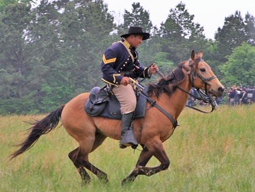 Civil War top sites -- Battle of Mansfield re-enanctment